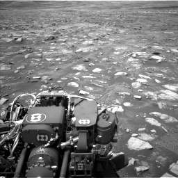 Nasa's Mars rover Curiosity acquired this image using its Left Navigation Camera on Sol 3018, at drive 2576, site number 85