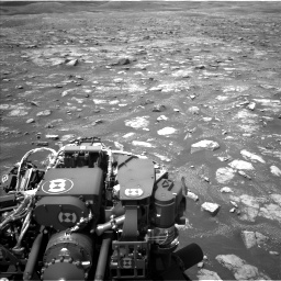 Nasa's Mars rover Curiosity acquired this image using its Left Navigation Camera on Sol 3018, at drive 2582, site number 85