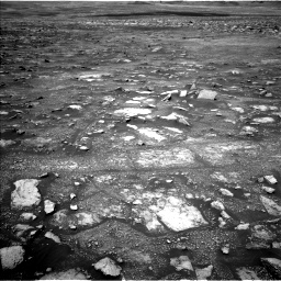 Nasa's Mars rover Curiosity acquired this image using its Left Navigation Camera on Sol 3018, at drive 2600, site number 85