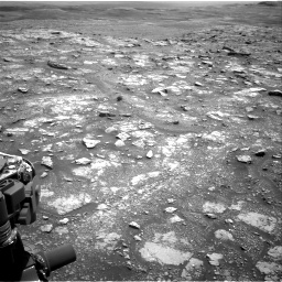 Nasa's Mars rover Curiosity acquired this image using its Right Navigation Camera on Sol 3018, at drive 2336, site number 85