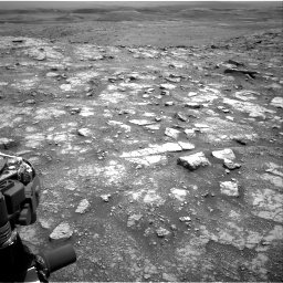 Nasa's Mars rover Curiosity acquired this image using its Right Navigation Camera on Sol 3018, at drive 2360, site number 85
