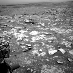 Nasa's Mars rover Curiosity acquired this image using its Right Navigation Camera on Sol 3018, at drive 2372, site number 85