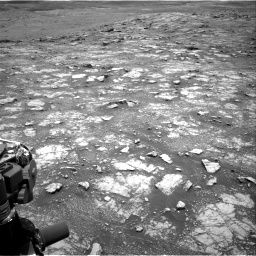 Nasa's Mars rover Curiosity acquired this image using its Right Navigation Camera on Sol 3018, at drive 2390, site number 85