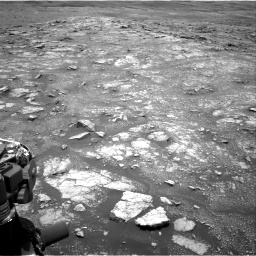 Nasa's Mars rover Curiosity acquired this image using its Right Navigation Camera on Sol 3018, at drive 2438, site number 85