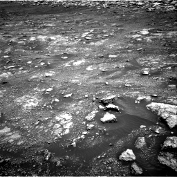 Nasa's Mars rover Curiosity acquired this image using its Right Navigation Camera on Sol 3018, at drive 2486, site number 85