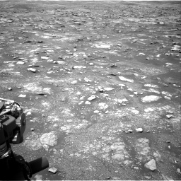 Nasa's Mars rover Curiosity acquired this image using its Right Navigation Camera on Sol 3018, at drive 2540, site number 85
