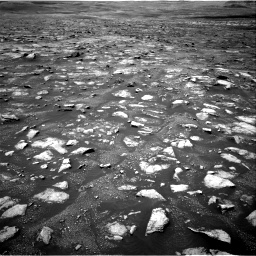 Nasa's Mars rover Curiosity acquired this image using its Right Navigation Camera on Sol 3018, at drive 2570, site number 85
