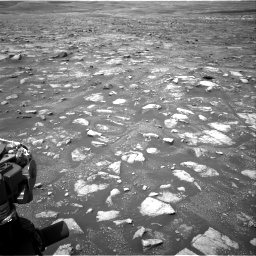 Nasa's Mars rover Curiosity acquired this image using its Right Navigation Camera on Sol 3018, at drive 2576, site number 85