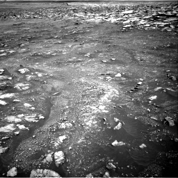 Nasa's Mars rover Curiosity acquired this image using its Right Navigation Camera on Sol 3018, at drive 2588, site number 85
