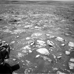 Nasa's Mars rover Curiosity acquired this image using its Right Navigation Camera on Sol 3018, at drive 2594, site number 85