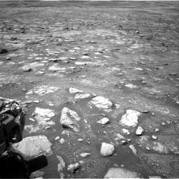 Nasa's Mars rover Curiosity acquired this image using its Right Navigation Camera on Sol 3018, at drive 2600, site number 85