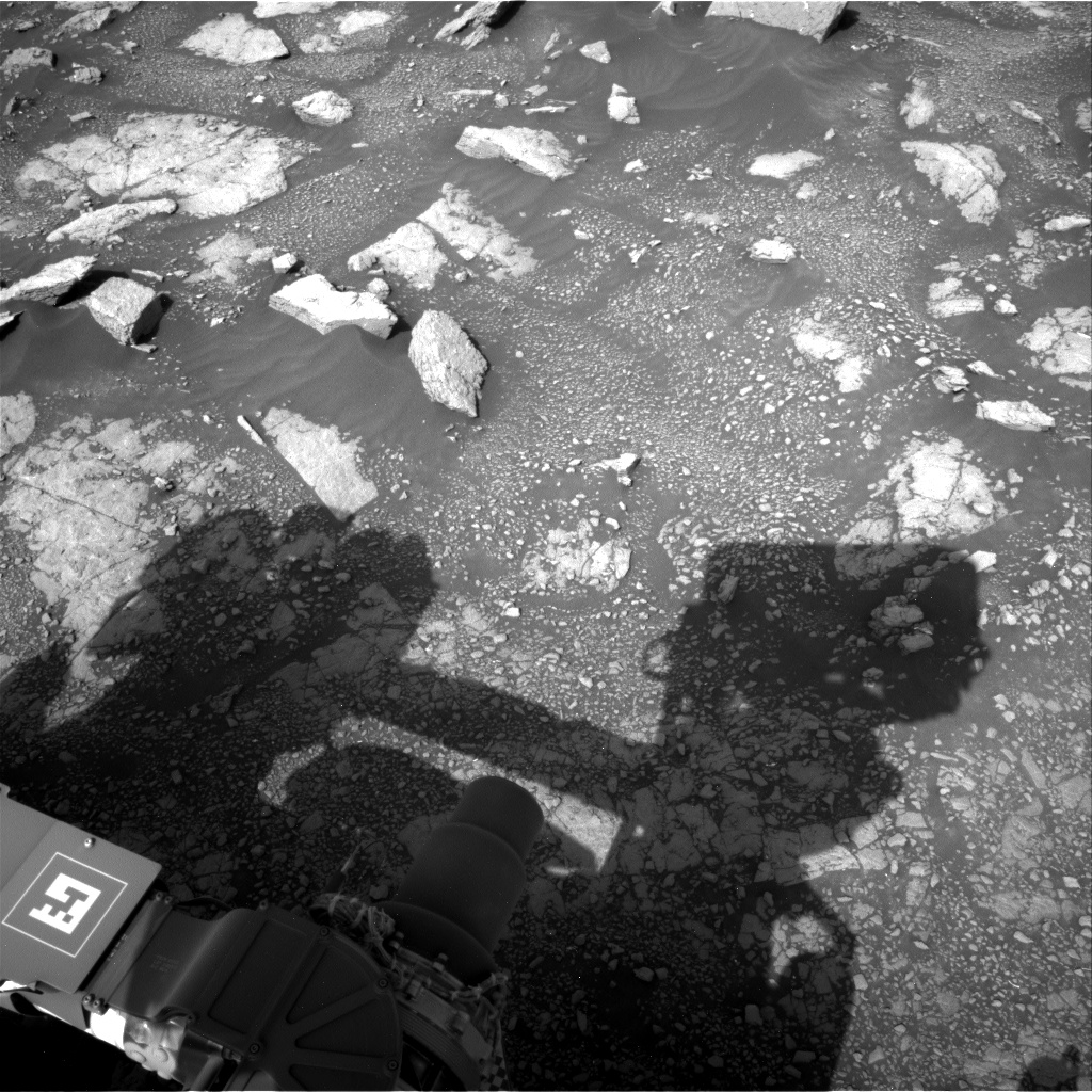 Nasa's Mars rover Curiosity acquired this image using its Right Navigation Camera on Sol 3018, at drive 2618, site number 85