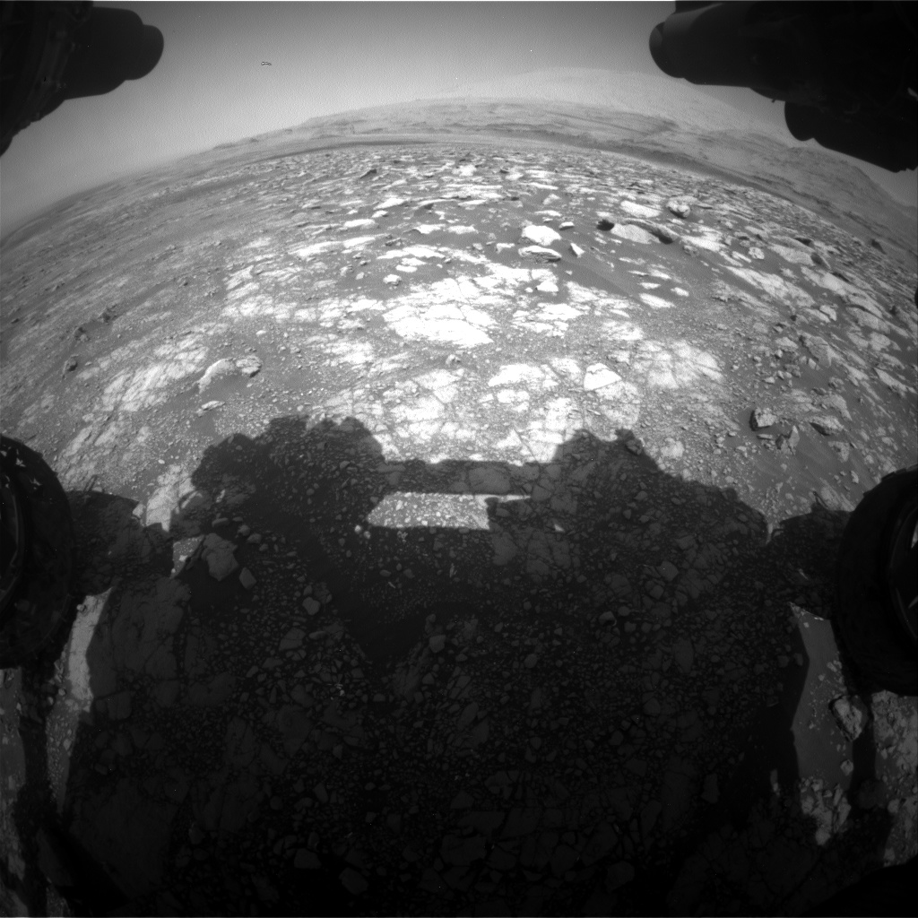 Nasa's Mars rover Curiosity acquired this image using its Front Hazard Avoidance Camera (Front Hazcam) on Sol 3020, at drive 0, site number 86