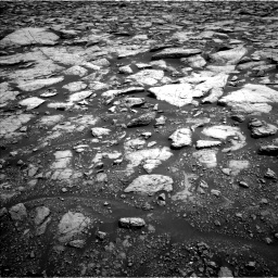 Nasa's Mars rover Curiosity acquired this image using its Left Navigation Camera on Sol 3020, at drive 2744, site number 85