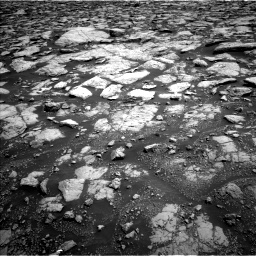 Nasa's Mars rover Curiosity acquired this image using its Left Navigation Camera on Sol 3020, at drive 2756, site number 85