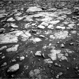 Nasa's Mars rover Curiosity acquired this image using its Left Navigation Camera on Sol 3020, at drive 2762, site number 85