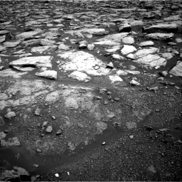 Nasa's Mars rover Curiosity acquired this image using its Right Navigation Camera on Sol 3020, at drive 2720, site number 85