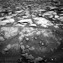 Nasa's Mars rover Curiosity acquired this image using its Right Navigation Camera on Sol 3020, at drive 2726, site number 85