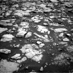 Nasa's Mars rover Curiosity acquired this image using its Left Navigation Camera on Sol 3022, at drive 48, site number 86