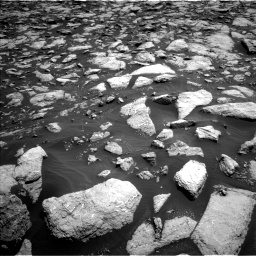 Nasa's Mars rover Curiosity acquired this image using its Left Navigation Camera on Sol 3022, at drive 90, site number 86