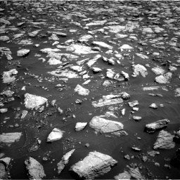 Nasa's Mars rover Curiosity acquired this image using its Left Navigation Camera on Sol 3022, at drive 114, site number 86