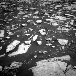 Nasa's Mars rover Curiosity acquired this image using its Left Navigation Camera on Sol 3022, at drive 126, site number 86