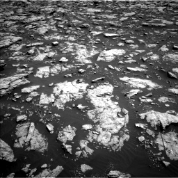 Nasa's Mars rover Curiosity acquired this image using its Left Navigation Camera on Sol 3022, at drive 168, site number 86