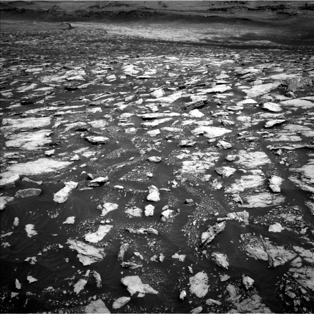 Nasa's Mars rover Curiosity acquired this image using its Left Navigation Camera on Sol 3022, at drive 174, site number 86