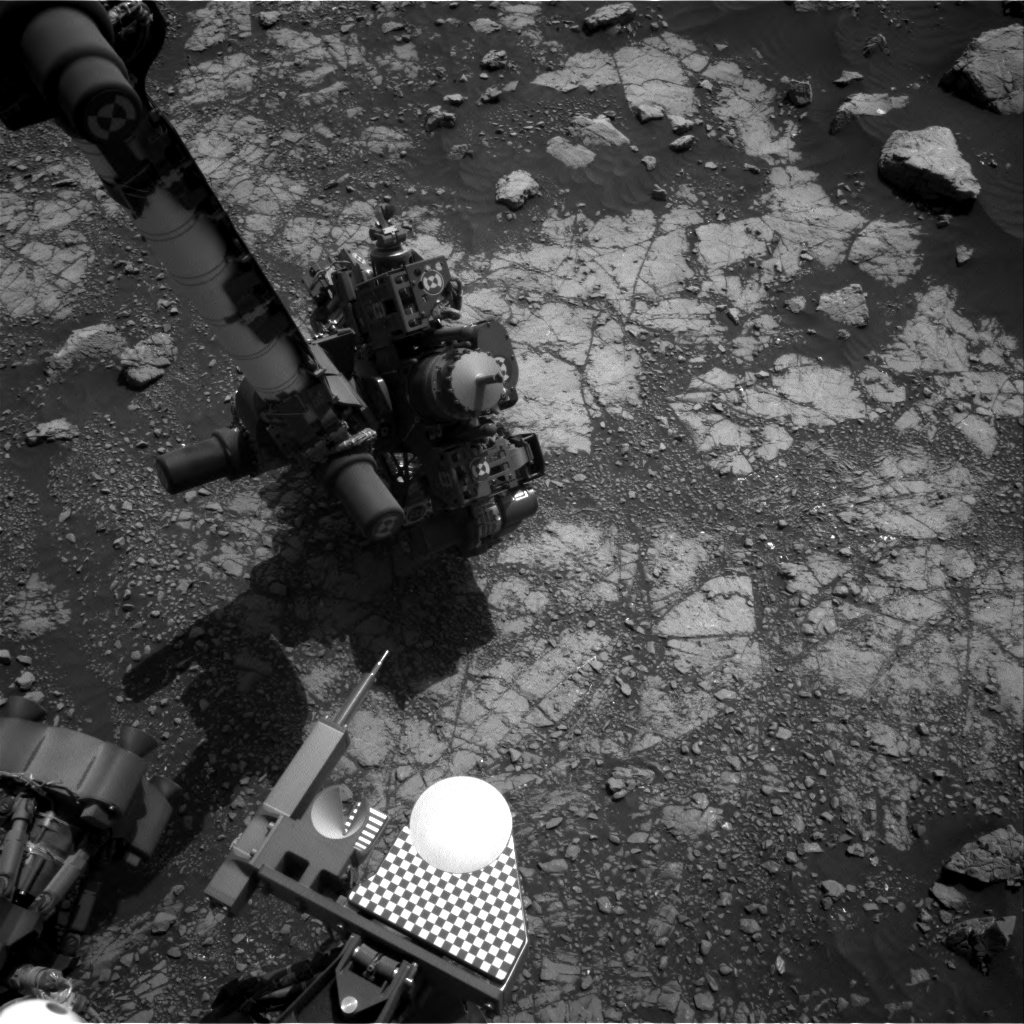 Nasa's Mars rover Curiosity acquired this image using its Right Navigation Camera on Sol 3022, at drive 0, site number 86