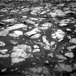 Nasa's Mars rover Curiosity acquired this image using its Right Navigation Camera on Sol 3022, at drive 18, site number 86