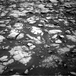 Nasa's Mars rover Curiosity acquired this image using its Right Navigation Camera on Sol 3022, at drive 48, site number 86