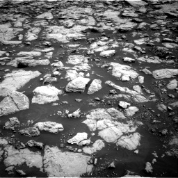 Nasa's Mars rover Curiosity acquired this image using its Right Navigation Camera on Sol 3022, at drive 54, site number 86