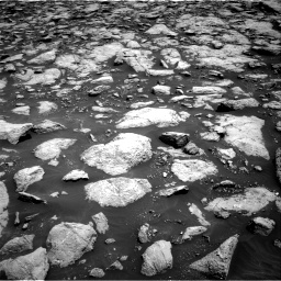 Nasa's Mars rover Curiosity acquired this image using its Right Navigation Camera on Sol 3022, at drive 72, site number 86