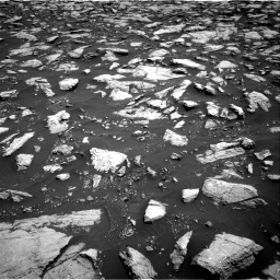Nasa's Mars rover Curiosity acquired this image using its Right Navigation Camera on Sol 3022, at drive 120, site number 86