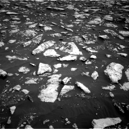 Nasa's Mars rover Curiosity acquired this image using its Right Navigation Camera on Sol 3022, at drive 144, site number 86
