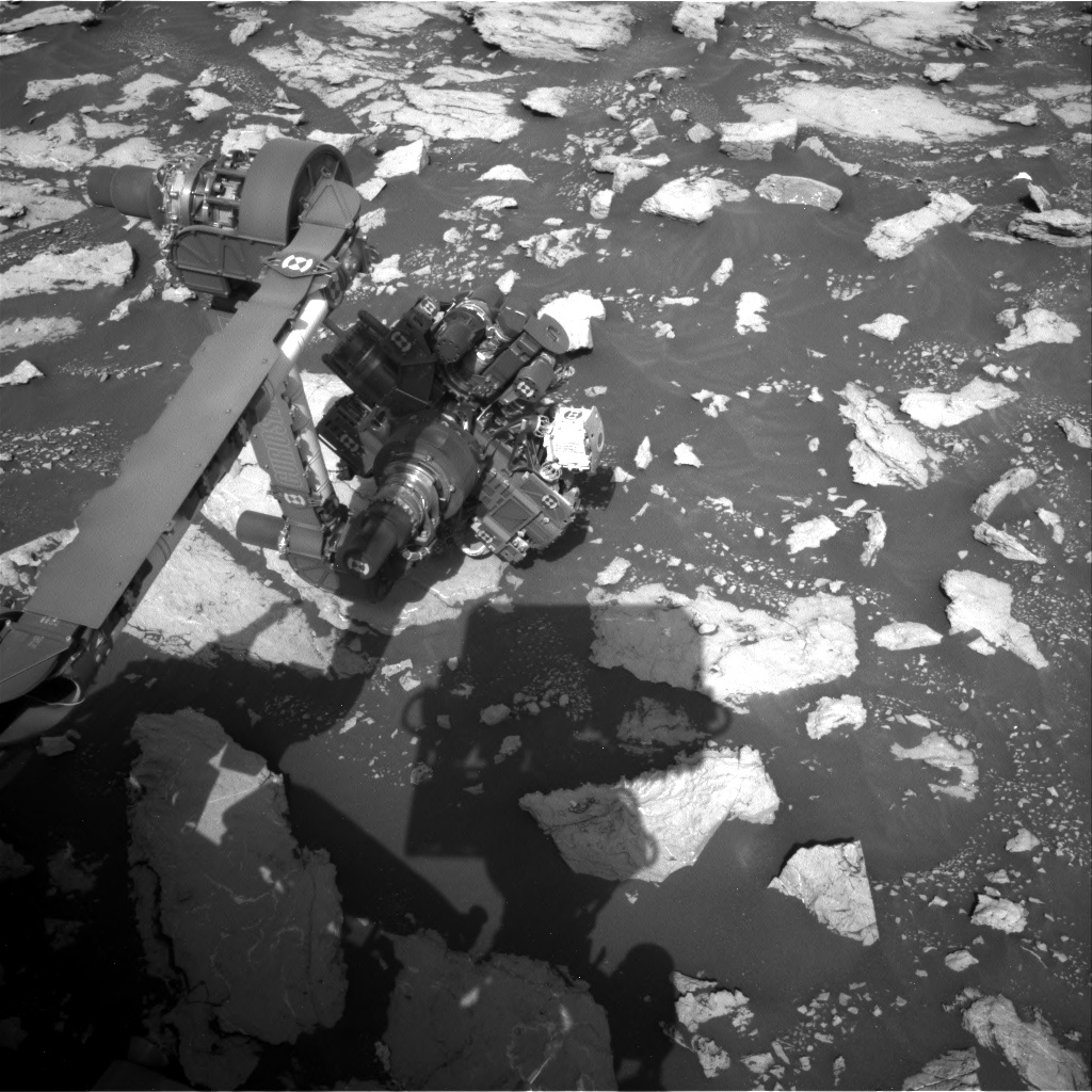 Nasa's Mars rover Curiosity acquired this image using its Right Navigation Camera on Sol 3024, at drive 174, site number 86