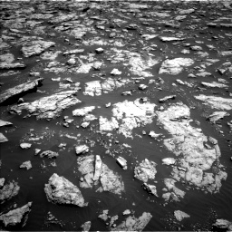 Nasa's Mars rover Curiosity acquired this image using its Left Navigation Camera on Sol 3025, at drive 174, site number 86