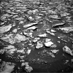 Nasa's Mars rover Curiosity acquired this image using its Left Navigation Camera on Sol 3025, at drive 186, site number 86