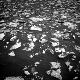 Nasa's Mars rover Curiosity acquired this image using its Left Navigation Camera on Sol 3025, at drive 318, site number 86