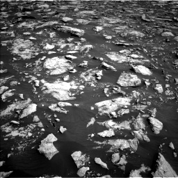 Nasa's Mars rover Curiosity acquired this image using its Left Navigation Camera on Sol 3025, at drive 378, site number 86