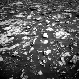 Nasa's Mars rover Curiosity acquired this image using its Left Navigation Camera on Sol 3025, at drive 438, site number 86
