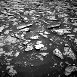 Nasa's Mars rover Curiosity acquired this image using its Right Navigation Camera on Sol 3025, at drive 186, site number 86