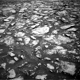 Nasa's Mars rover Curiosity acquired this image using its Right Navigation Camera on Sol 3025, at drive 204, site number 86