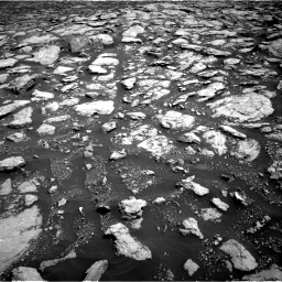 Nasa's Mars rover Curiosity acquired this image using its Right Navigation Camera on Sol 3025, at drive 216, site number 86