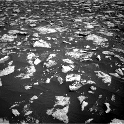 Nasa's Mars rover Curiosity acquired this image using its Right Navigation Camera on Sol 3025, at drive 318, site number 86