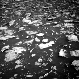Nasa's Mars rover Curiosity acquired this image using its Right Navigation Camera on Sol 3025, at drive 342, site number 86