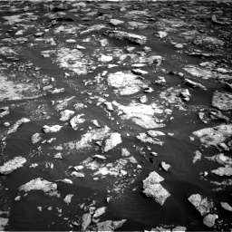 Nasa's Mars rover Curiosity acquired this image using its Right Navigation Camera on Sol 3025, at drive 384, site number 86