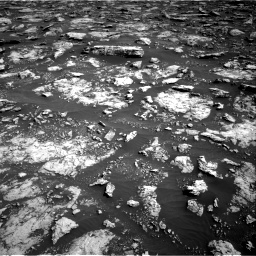 Nasa's Mars rover Curiosity acquired this image using its Right Navigation Camera on Sol 3025, at drive 420, site number 86