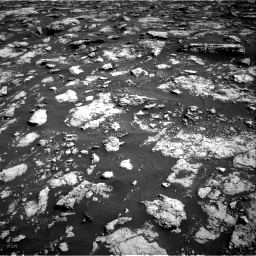 Nasa's Mars rover Curiosity acquired this image using its Right Navigation Camera on Sol 3025, at drive 432, site number 86