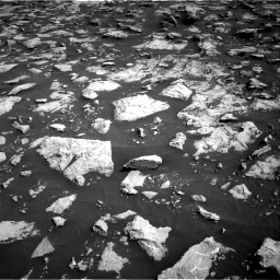 Nasa's Mars rover Curiosity acquired this image using its Right Navigation Camera on Sol 3025, at drive 468, site number 86